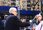 General Hospital's Tony Geary signs for fans after he taped Katie Couric's Talk Show on April 2, 2013 in New York City, New York. Fans came to the show and were outside the studio to greet the actors as they left. (Photo by Sue Coflin/Max Photos)