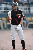 August 16 2008:  Shortstop Oliver Marmol (16) of the Quad Cities River Bandits, Class-A affiliate of the St. Louis Cardinals, during a game at Pohlman Field in Beloit, WI.  Photo by:  Mike Janes/Four Seam Images