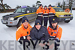 Members of Tralee civil Defence who are transporting Hospital staff to work during the atctic conditions. Front from left Gary Kavanagh, Tom Brosnan and Paul McDonnell. Back from left: Dan Roche, Darren O'Callaghan and Trevor Cloonan.