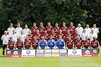 12.07.2013: Eintracht Frankfurt Mannschaftsfoto