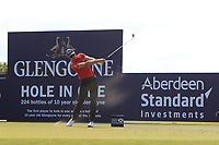 Henrick Stenson (SWE) on the 3rd during Round 4 of the Aberdeen Standard Investments Scottish Open 2019 at The Renaissance Club, North Berwick, Scotland on Sunday 14th July 2019.<br /> Picture:  Thos Caffrey / Golffile<br /> <br /> All photos usage must carry mandatory copyright credit (© Golffile | Thos Caffrey)
