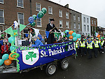 St Patrick's National School at the Drogheda St Patrick's day parade. Photo:Colin Bell/pressphotos.ie