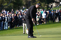 Phil Mickelson (USA) in action during the final round of the AT&T Pro-Am, Pebble Beach, Monterey, California, USA. 08/02/2020<br /> Picture: Golffile | Phil Inglis<br /> <br /> <br /> All photo usage must carry mandatory copyright credit (© Golffile | Phil Inglis)