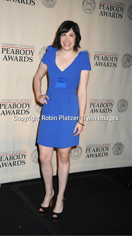 "Carrie Brownstein of "" Portlandia""attends the 71st Annual Peabody Awards at the Waldorf Astoria Hotel in New York City on May 21, 2012."