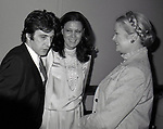 Al Pacino, Anna Strassberg and Princess Grace Kelly attend the Theatre Hall Of Fame Awards held on March 28, 1982 at the Uris Theater, now called the Gershwin Theater, New York City.