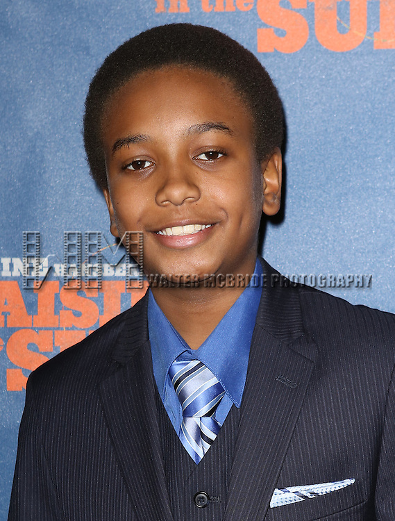 """Darius Kaleb attends the Broadway Opening Night After Party for  """"A Raisin In The Sun"""" at Tribeca Rooftop on April 3, 2014 in New York City."""