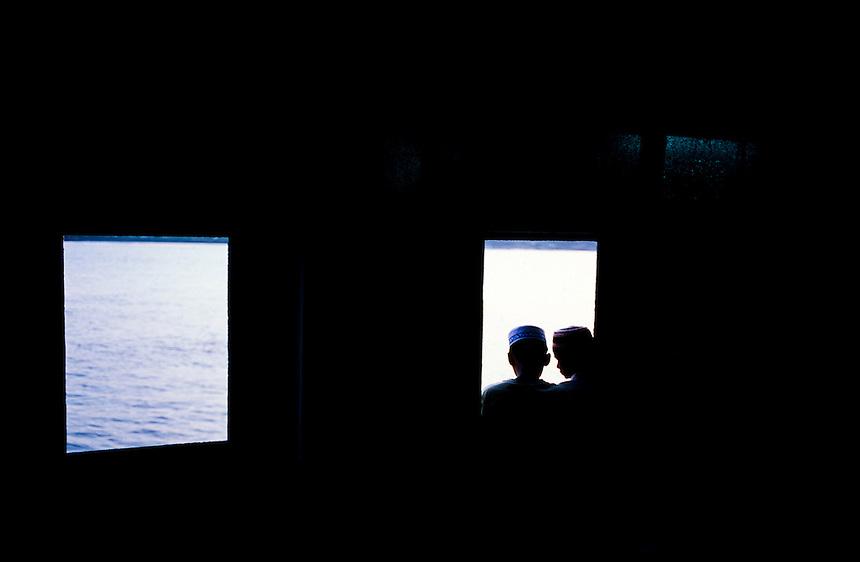 Cross-River Ferry, Yangon, Burma/Myanmar, November 2010. Photo: Ed Giles.