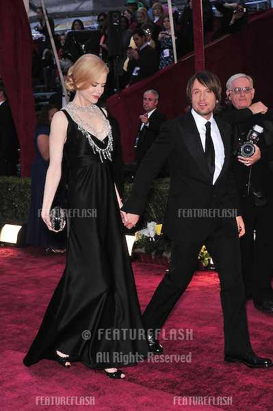 Nicole Kidman & Keith Urban at the 80th Annual Academy Awards at the Kodak Theatre, Hollywood, CA..February 24, 2008 Los Angeles, CA.Picture: Paul Smith / Featureflash
