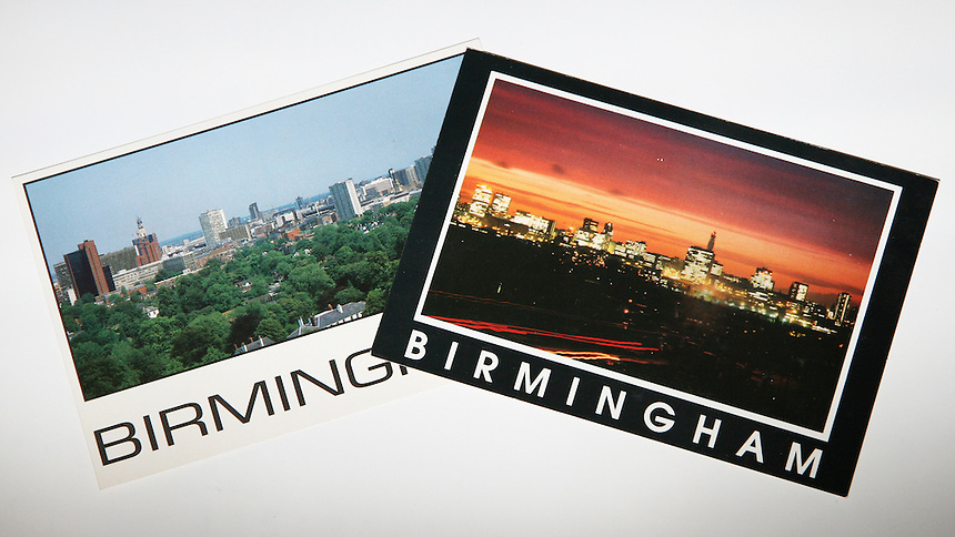 I produced and distributed Postcards of my home town of Birmingham.
