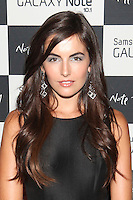 Camilla Belle attends the Samsung Galaxy Note 10.1 Launch Event in New York City, August 15, 2012. ©?Diego Corredor/MediaPunch Inc. /NortePhoto.com<br />