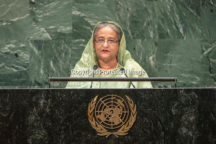 LOS general debate – 27 September<br /> <br /> PM<br /> <br /> Her Excellency Sheikh HASINA Prime Minister of the People's Republic of Bangladesh