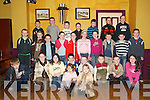 Under 10s: The Athea Coiste na nÓg Under 10 Team at the Social in The Gables, Athea, on Friday night..