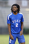 27 September 2016: Duke's Carter Manley. The Duke University Blue Devils hosted the Georgia State University Panthers at Koskinen Stadium in Durham, North Carolina in a 2016 NCAA Division I Men's Soccer match. Georgia State won the game 2-1 in two overtimes.