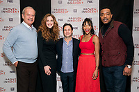 """NEW YORK - FEBRUARY 13: Kelsey Grammer, Rachelle Lefevre, Danny Strong, Nikki M. James and Russell Hornsby attend a screening of FOX's """"Proven Innocent"""" at The Paley Center for Media on February 13, 2019 in New York City. (Photo by Ben Hider/Fox/PictureGroup)"""