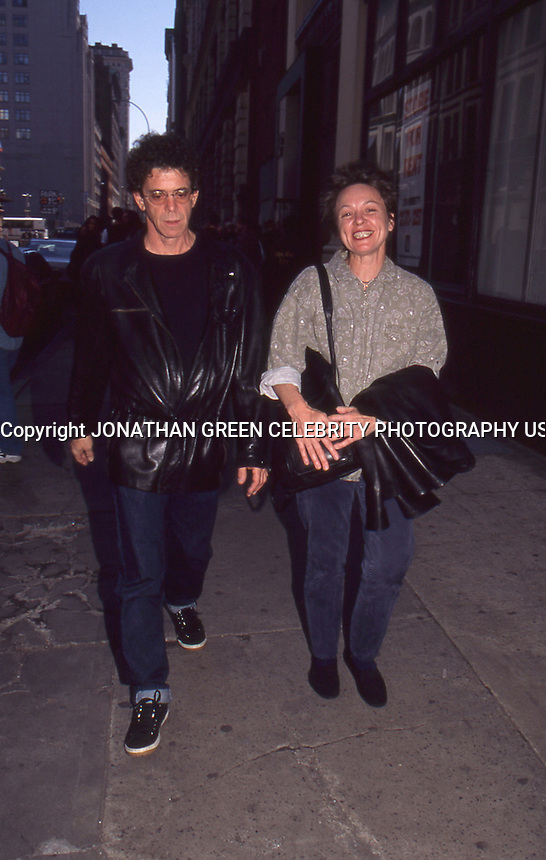 Lou Reed &amp; Laurie Anderson 1997 by <br />