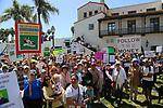Santa Barbara, CA.  Trump Tax March.  4-15-17  Photos by Frank Balthis