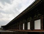Sanjusangendo Hall with 33 Bays, Hondo Main Hall, Rengeo-in, Kyoto, Japan