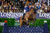 GBR-Holly Smith rides Hearts Destiny during the Challenge Cup: 2019 CSIO Barcelona - Longines FEI Nations Cup Jumping Final. Reial Club de Polo de Barcelona. Spain. Saturday 5 October. Copyright Photo: Libby Law Photography