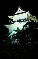"""Odawara Castle - Odawara is the gateway to Fuji Hakone National Park and the nearest Shinkansen Bullet Train station.  Odawara is well known for its castle, the nearest city to Hakone and also fish cakes or """"kamaboko"""" a Japanese delicacy"""