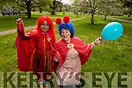 Jeminma and Caroline Foster (Tralee) at the Family Fancy Dress Charity Fun Run in aid of Down Syndrome Ireland in the Tralee Town park on Saturday.