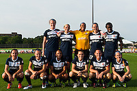 Sky Blue FC starting eleven. Sky Blue FC and the Portland Thorns played to a 0-0 tie during a National Women's Soccer League (NWSL) match at Yurcak Field in Piscataway, NJ, on June 22, 2013.