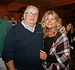Torrington, CT 102717MK20 James and Sandra Nichol gathered at the Warner's Theatre's 16th annual Wine and Food Tasting. Michael Kabelka / Republican-American
