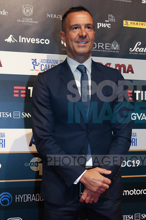 Jorge Mendes pictured at the The Italian Footballers Association Grand Gala of Football at the Megawatt Court, Milan. Picture date: 2nd December 2019. Picture credit should read: Jonathan Moscrop/Sportimage