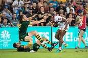 2nd December 2017, Brisbane, Australia;  Jermaine McGillvary of England during the Rugby League World Cup Mens Final match between Australia and England at Brisbane Stadium, Brisbane, Australia