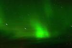 STAR TRAILS AND THE NORTHERN LIGHTS,  'Aurora borealis' CHURCHILL, MANITOBA, CANADA