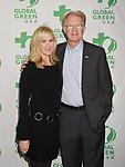 LOS ANGELES, CA - FEBRUARY 22: Actor Ed Begley Jr. (R) and wife Rachelle Carson arrive at the 14th Annual Global Green Pre-Oscar Gala at TAO Hollywood on February 22, 2017 in Los Angeles, California.