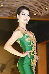 Miss Grand Japan 2015 winner Ayaka Tanaka poses during the Miss Grand Japan 2015 contest in Tokyo on August 24, 2015. The 25-year-old nurse from Saitama will represent Japan in the Miss Grand International 2015 contest to be held in Thailand later this year. (Photo by AFLO)