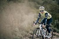 Audrey Cordon-Ragot (FRA/Trek-Segafredo)<br /> <br /> Team Trek-Segafredo women's team<br /> training camp<br /> Mallorca, january 2019<br /> <br /> ©kramon