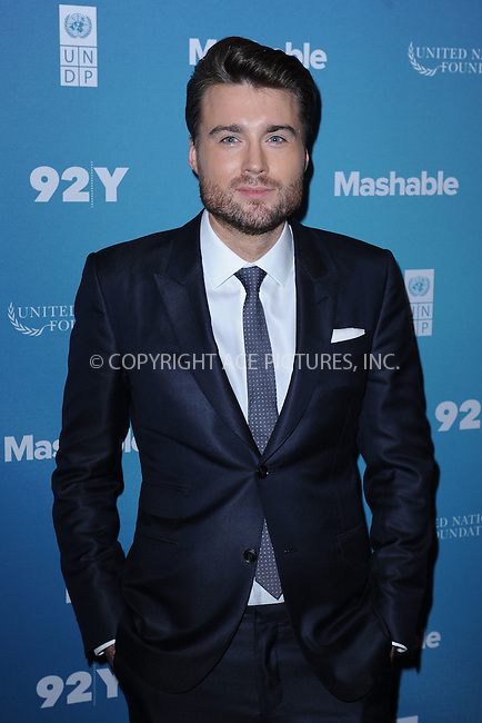 WWW.ACEPIXS.COM<br /> September 28, 2015 New York City<br /> <br /> Pete Cashmore attending the 2015 Social Good Summit at 92Y on September 28, 2015 in New York City.<br /> <br /> Credit: Kristin Callahan/ACE Pictures<br /> <br /> Tel: (646) 769 0430<br /> e-mail: info@acepixs.com<br /> web: http://www.acepixs.com