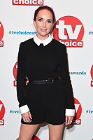 LONDON, UK. September 10, 2018: Kate Oates at the TV Choice Awards 2018 at the Dorchester Hotel, London.<br /> Picture: Steve Vas/Featureflash