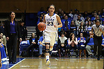 01 March 2015: Duke's Rebecca Greenwell. The Duke University Blue Devils hosted the University of North Carolina Tar Heels at Cameron Indoor Stadium in Durham, North Carolina in a 2014-15 NCAA Division I Women's Basketball game. Duke won the game 81-80.