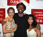 Nicole Ari Parker, Wood Harris, Daphne Rubin-Vega.attending the Broadway Opening Night After Party for 'A Streetcar Named Desire' on 4/22/2012 at the Copacabana in New York City.