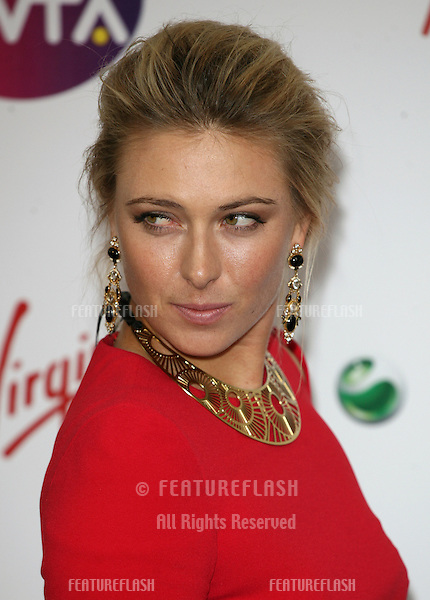 Maria Sharapova arriving for the Pre Wimbledon Party, Kensington Roof Gardens, London. 16/07/2011  Picture by: Alexandra Glen / Featureflash