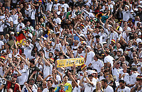 FUSSBALL EURO 2016 VIERTELFINALE IN BORDEAUX Deutschland - Italien      02.07.2016 Deutsche Fans im Stadion
