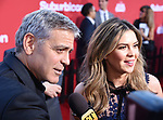 WESTWOOD, CA - OCTOBER 22:  Director/producer/screenwriter George Clooney arrives at the Premiere Of Paramount Pictures' 'Suburbicon' at Regency Village Theatre on October 22, 2017 in Westwood, California.