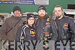 Pictured at the Dyno Day at ONeills on Sunday, from left: John Duggan (Tralee), Katie Ryan (Listowel), Ciaran McKenna (Listowel) and John OSullivan (Listowel).