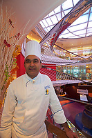 CT- Kitchen Tour & Specialty Restaurants Plated Shots and Chefs aboard HAL Koningsdam S. Caribbean