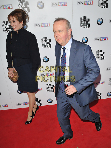 LONDON, ENGLAND - JUNE 07: Katherine Parkinson &amp; Ian Hislop  attend the South Bank Sky Arts Awards 2015, The Savoy Hotel, The Strand, on Sunday June 07, 2015 in London, England, UK. <br /> CAP/CAN<br /> &copy;CAN/Capital Pictures