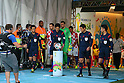 (L to R) <br /> Toru Sagara, <br /> Yuichi Nishimura (Referee), <br /> Hassan Kamranifar, <br /> Toshiyuki Nagi, <br /> JUNE 12, 2014 - Football /Soccer : <br /> 2014 FIFA World Cup Brazil <br /> Group Match -Group A- <br /> between Brazil 3-1 Croatia <br /> at Arena de Sao Paulo, Sao Paulo, Brazil. <br /> (Photo by YUTAKA/AFLO SPORT)