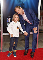 WESTWOOD, CA - APRIL 11: Josh Lucas (R) and Noah Maurer attend the premiere of 20th Century Fox's 'Breakthrough' at Westwood Regency Theater on April 11, 2019 in Los Angeles, California.<br /> CAP/ROT/TM<br /> &copy;TM/ROT/Capital Pictures