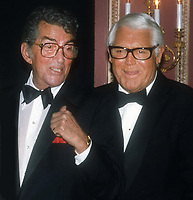 Dean Martin Cary Grant Undated<br /> Photo By John Barrett/PHOTOlink