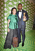 BEVERLY HILLS, CA - JANUARY 06: Mahershala Ali (R) and Amatus Sami-Karim attend HBO's Official Golden Globe Awards After Party at Circa 55 Restaurant at the Beverly Hilton Hotel on January 6, 2019 in Beverly Hills, California.<br /> CAP/ROT/TM<br /> ©TM/ROT/Capital Pictures