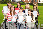 Pictured after they received their junior certs in St Brigids Presentation, Killarney on Wednesday were Niamh Hickey, Siobhan Fleming, Sinead Tangney, Andrea McCarthy, Annie Potts, Lucy Cronin and Emily Treacy.............................................................................................