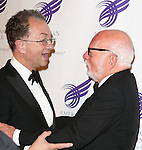 William Ivey Long and Hal Prince attending the The 2013 American Theatre Wing's Annual Gala honoring Harold Prince at the Plaza Hotel in New York City on September 16, 2013