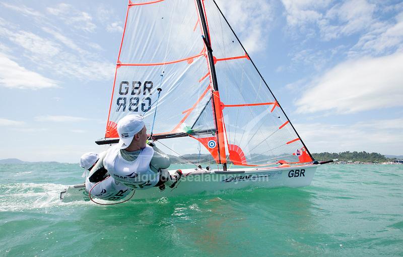 United Kingdom29erMenCrewGBRFS19FreddieSimes<br /> United Kingdom29erMenHelmGBRGT22GeorgeTardrew<br /> 2015 Youth Sailing World Championships,<br /> Langkawi, Malaysia