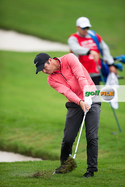 Paul Casey (ENG) on the 2nd during the 1st round of the  WGC-HSBC Champions, Sheshan International GC, Shanghai, China PR.  27/10/2016<br /> Picture: Golffile | Fran Caffrey<br /> <br /> <br /> All photo usage must carry mandatory copyright credit (&copy; Golffile | Fran Caffrey)